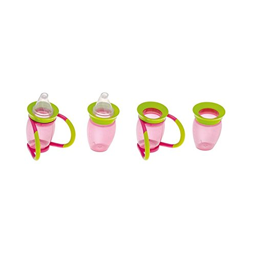 Brother Max 4-in-1 Trainer Cup (Pink/Green) from BROTHER MAX
