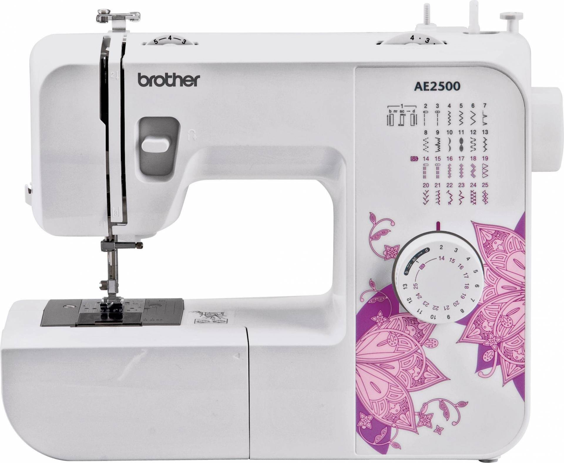 Brother - AE2500 Stitch Sewing Machine - White from Brother