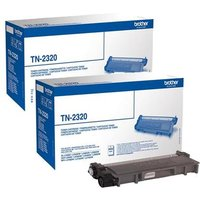 Original Multipack Brother HL-L2365DW Printer Toner Cartridges (2 Pack) from Brother