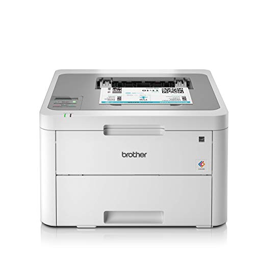 Brother HL-L3210CW Colour Laser Printer, Wireless and PC Connected, Print, A4 from Brother