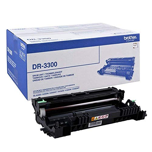 Brother DR-3300 Drum Unit, Brother Genuine Supplies from Brother