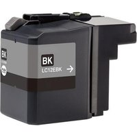 Compatible Black Brother LC12EBK Ink Cartridge from Printerinks
