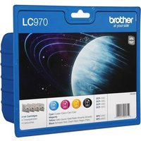 Brother LC970 BK/C/M/Y Original Multipack Ink Cartridges from Brother