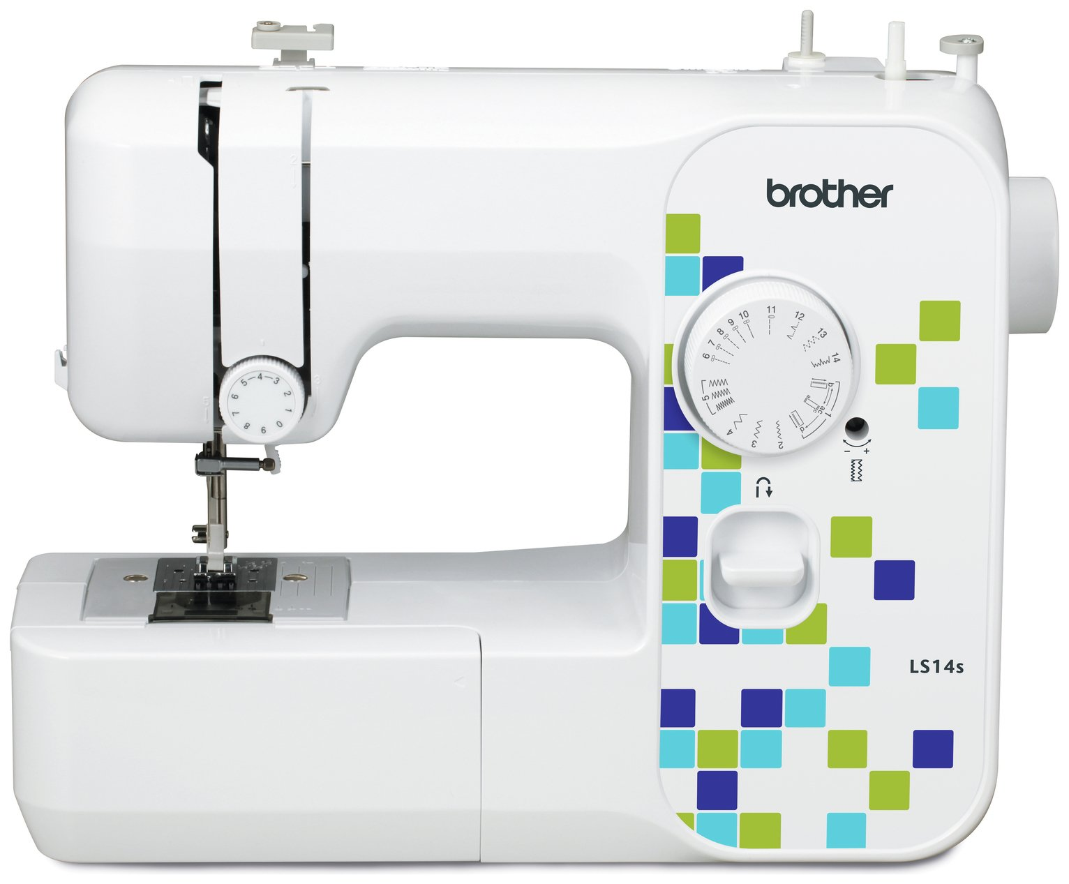 Brother - LS14 Manual Stitch Sewing Machine - White from Brother