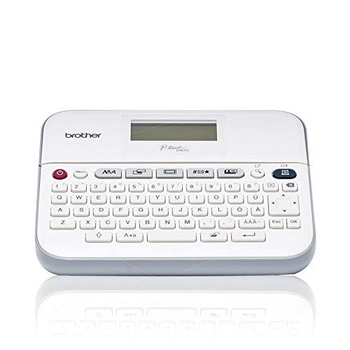 Brother PT-D400 Label Printer | P-Touch Labeller | QWERTY Keyboard | Desktop from Brother