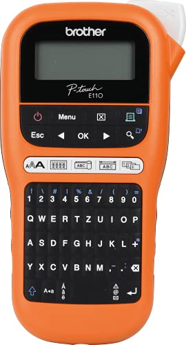Brother PT-E110 Label Maker, P-Touch Electrician Labeller, Handheld from Brother
