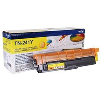 Brother TN241Y Yellow Original Standard Capacity Toner Cartridge from Brother