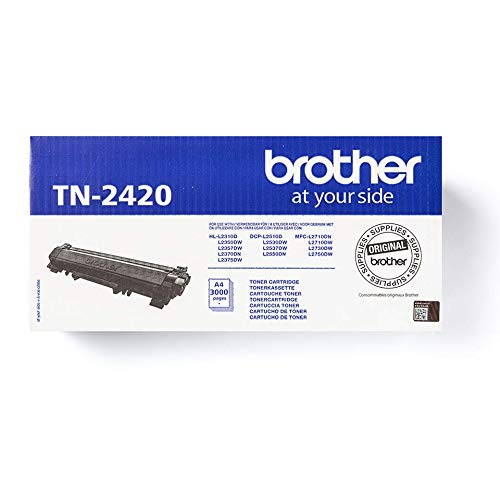 Brother TN2420 Toner Cartridge, High Yield, Brother Genuine Supplies, Black from Brother