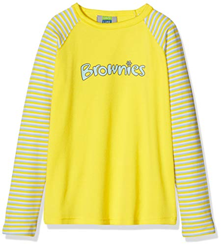 Brownie Long Sleeve Girl's T-Shirt Yellow C34IN from Brownie