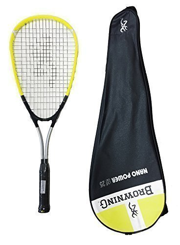 Browning Nanopower 25 Junior Squash Racket with Cover from Browning