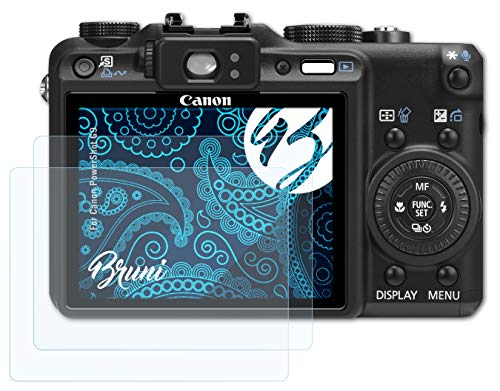 Bruni Screen Protector for Canon PowerShot G9 Protector Film, crystal clear Protective Film (2X) from Bruni