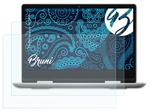 Bruni Screen Protector compatible with Dell Inspiron 14 5000 Protector Film, crystal clear Protective Film (2X) from Bruni