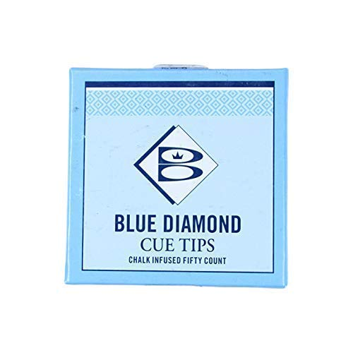 Blue Diamond Cue /& Case Deluxe 9mm Cue TIPPING KIT /& Drawstring Cotton Bag