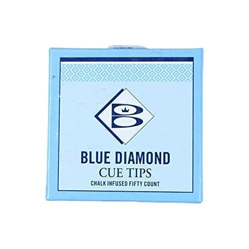 Blue Diamond Glue on Tip, 9mm (5pcs) from Brunswick Blue Diamond