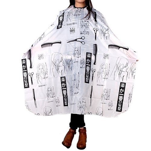 Brussels08 Waterproof Kids Adults Hair Salon Cutting Barber Cape Hair Cutting Cloak Haircut Hairdressing Apron Salon Gown Cape for Cutting Hair at Home, Barbershop, Hair Salon Random from Brussels08