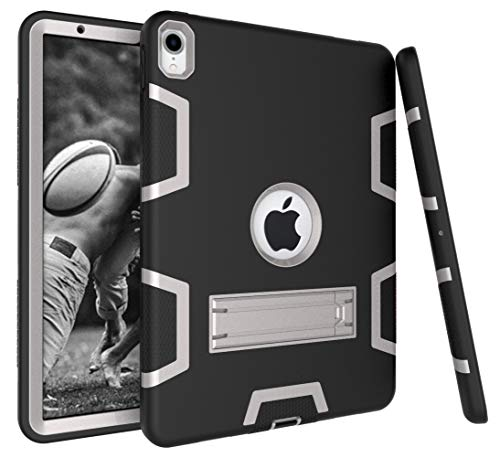 Bspring iPad Pro 11 '' Case 2018 Release, [Heavy Duty] Kickstand Full-body Rugged Protective Case for Apple iPad Pro 11 Inch 2018,Black/Gray from Bspring