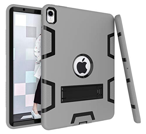Bspring iPad Pro 11 '' Case 2018 Release, [Heavy Duty] Kickstand Full-body Rugged Protective Case for Apple iPad Pro 11 Inch 2018,Gray/Black from Bspring