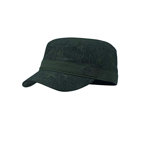 Buff Men's Checkboard Military Cap, Moss Green, One Size from Buff