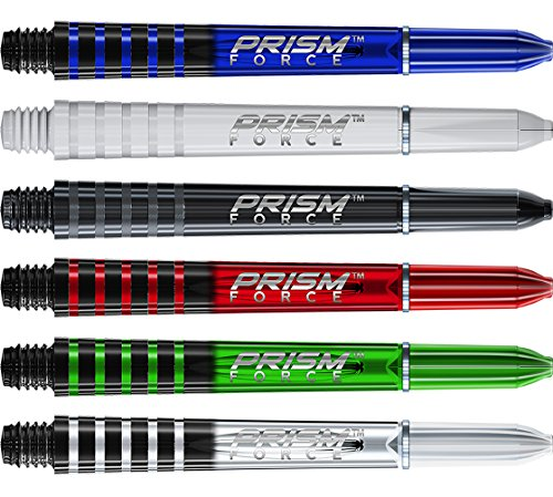 Winmau Prism Force Dart Shafts - 5 Sets (15 Stems) (Mixed, Short - 36mm) from Bullydarts