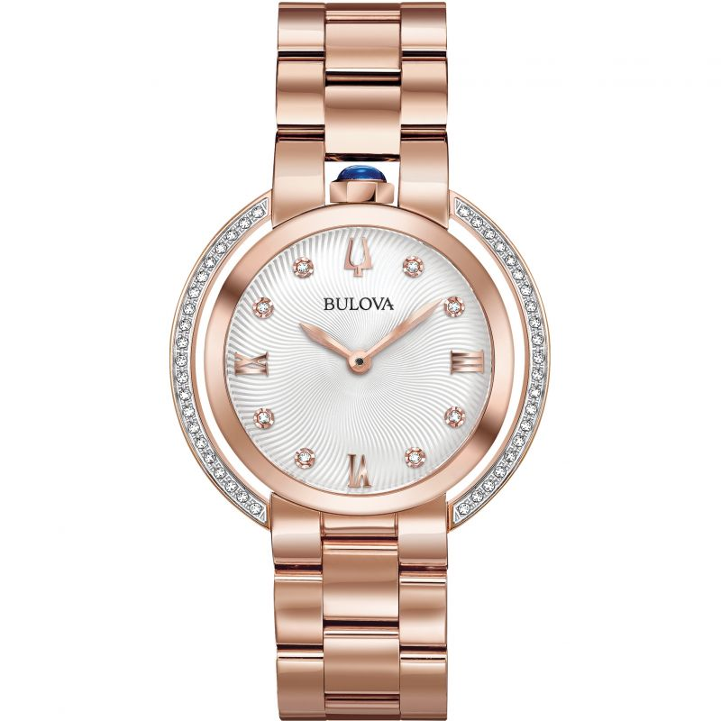 Bulova Ladies Rubaiyat Watch 98R248 from Bulova