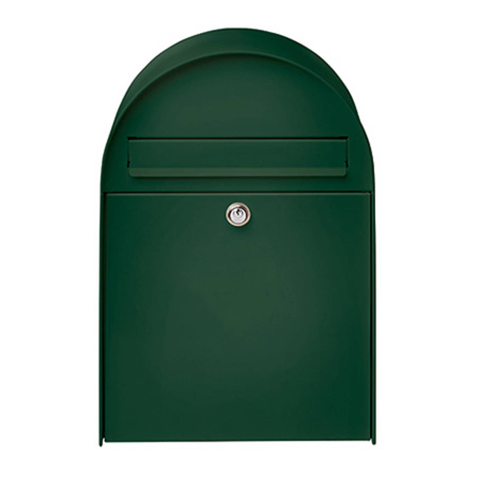 Spacious letter box Nordic 680 in Green from Burgwächter