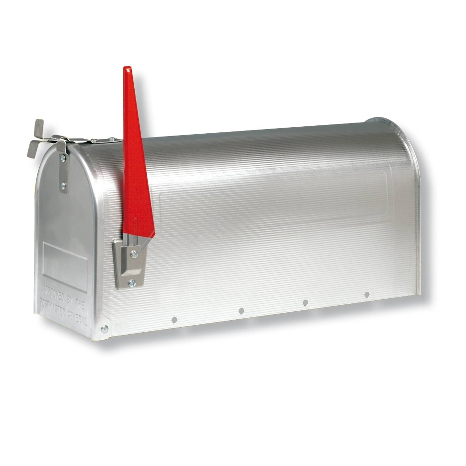 US mailbox with pivotable flag, aluminium from Burgwächter