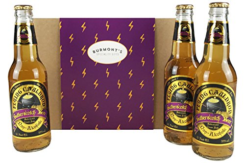 Harry Potter Non-Alcoholic Butterscotch Beer 3 Pack. Hamper Exclusive To Burmont's from Burmont's