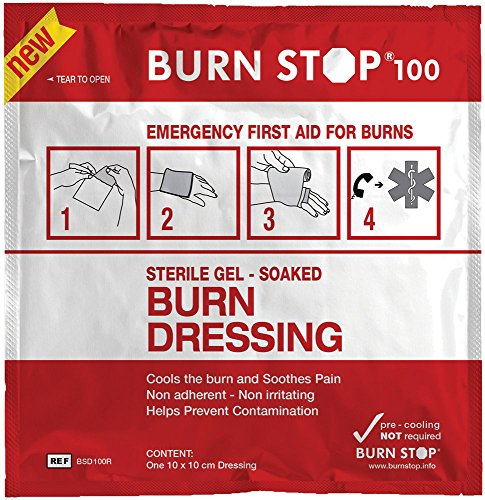 BurnStop First Aid Burn Dressing (10 x 10cm) from Burn Stop