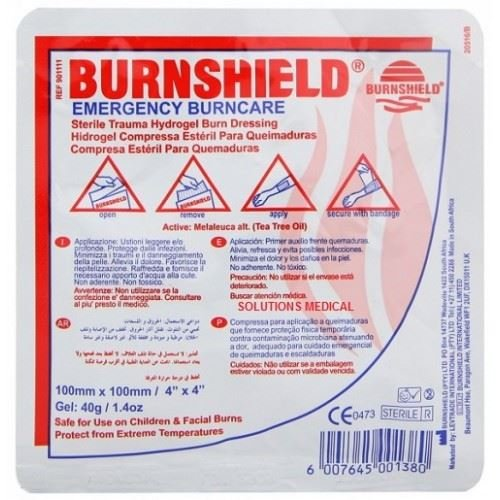 Burnshield Burns Dressing (100mm x 100mm) from Burnshield