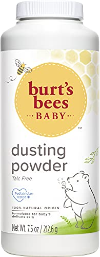 Burt's Bees Baby 100% Natural Dusting Powder, Talc-Free Baby Powder - 7.5 Ounce Bottle from Burt's Bees