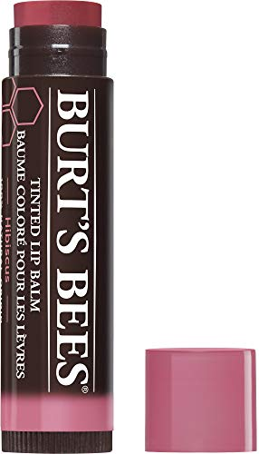Burt's Bees 100% Natural Tinted Lip Balm, Hibiscus with Shea Butter & Botanical Waxes – 1 Tube x 4.25 g from Burt's Bees
