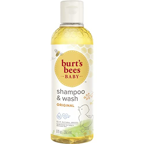 Burts Bees Baby Bee Tear Free Shampoo & Wash, 8 Ounce from Burt's Bees
