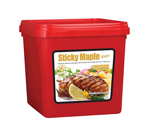 2.5kg of Sticky Maple Glaze / Meat Rub / Marinade / Sweet / Pudding from Butchers-Sundries