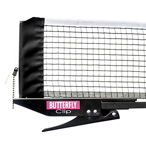 Butterfly Clip Table Tennis Net & Post Set from Butterfly