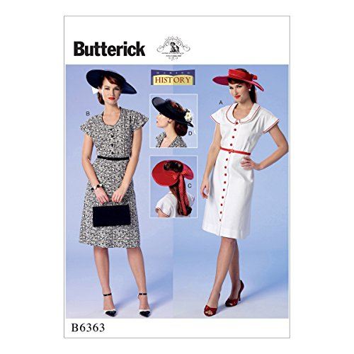 Butterick Patterns 6363 E5,Misses Costumes,Sizes 14-22 from Butterick Patterns