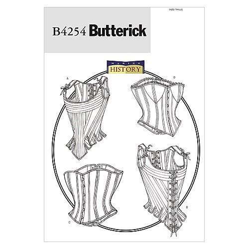 Butterick Patterns B4254 Size 6-8-10 Misses Stays and Corsets, Pack of 1, White from Butterick Patterns