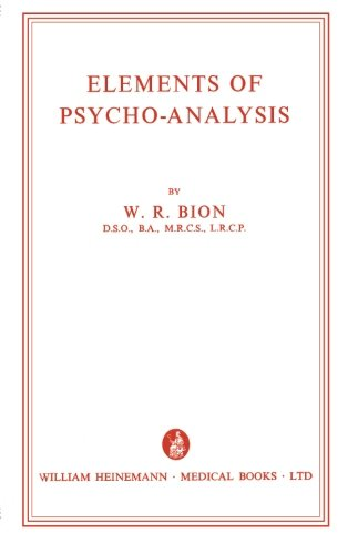 Elements of Psycho-Analysis from Butterworth-Heinemann