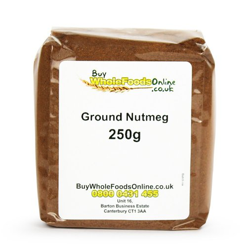 Nutmeg Ground 250g from Buy Whole Foods Online Ltd.