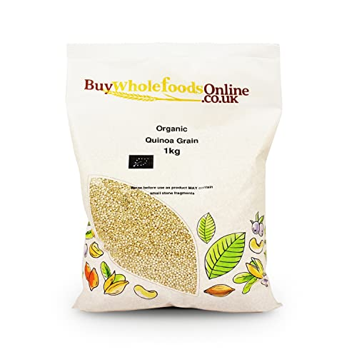 Organic Quinoa Grain 1kg from Buy Whole Foods Online Ltd.