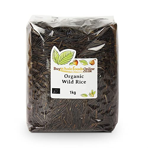Organic Wild Rice 1kg from Buy Whole Foods Online Ltd.