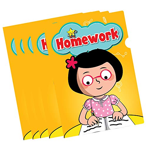C.S. Kids Homework Folders (Pack of 10) from C.S. Kids