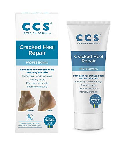 CCS Swedish Foot Heel Balm For Rough Dry And Cracked Heels - 75g- (PACK OF 2 IN TOTAL 150GM) from CCS