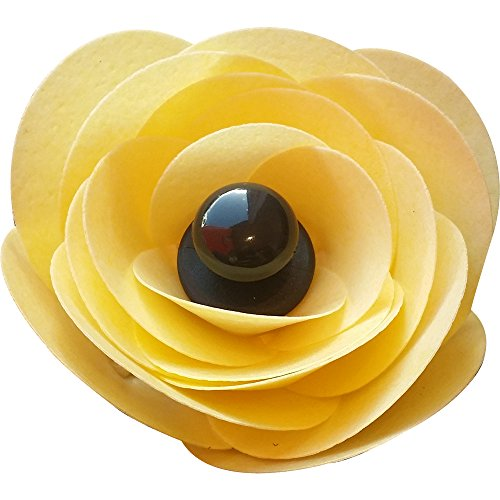 Edible ranunculus flower kit - Yellow- pack of 3 250-003 from CDA Products