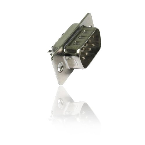 D9 RS-232 Male Connector (Solder Type) from CDL Micro