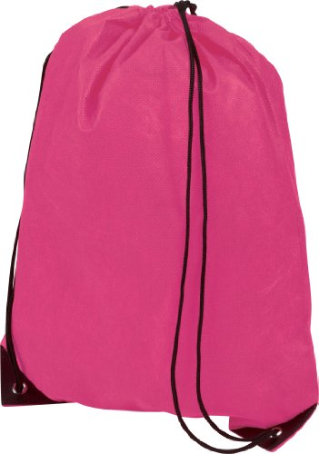 CENTRIX PREMIUM GYMSAC DRAWSTRING GYM BAG RUCKSACK - 10 COLOURS (CERISE HOT PINK) from CENTRIX