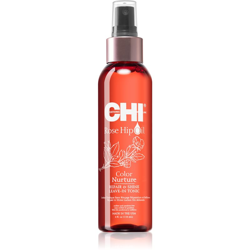 CHI Rose Hip Oil Toner For Damaged And Colored Hair 118 ml from CHI