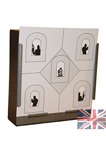 100 x 14cm Counter Terrorist House Air Rifle Pistol Targets (100gsm from CL Print Solutions