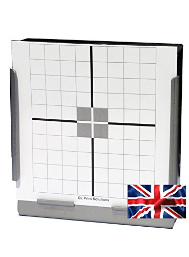 CL Print Solutions 100 x 14cm Crosshair Air Rifle Pistol Targets (100gsm from CL Print Solutions