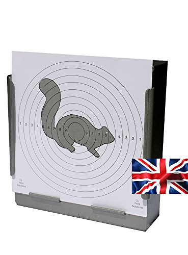 100 x 14cm Grey Squirrel Air Rifle Pistol Targets (100gsm from CL Print Solutions