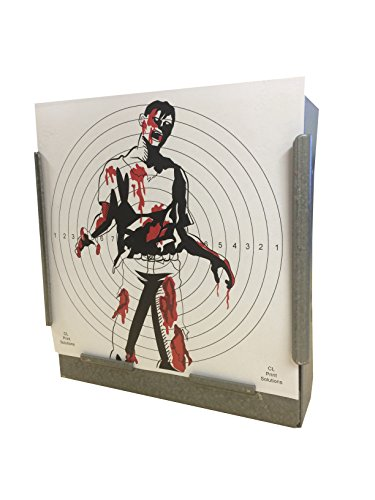 100 x 14cm SG FULL COLOUR Zombie Paper Targets Air Rifle Pistol (100gsm 14cm11 from CL Print Solutions